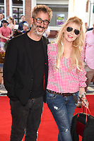 David Badiel &amp; Morwenna Banks at the premiere of &quot;Hampstead&quot; at the Everyman Hampstead Cinema, London, UK. <br /> 14 June  2017<br /> Picture: Steve Vas/Featureflash/SilverHub 0208 004 5359 sales@silverhubmedia.com