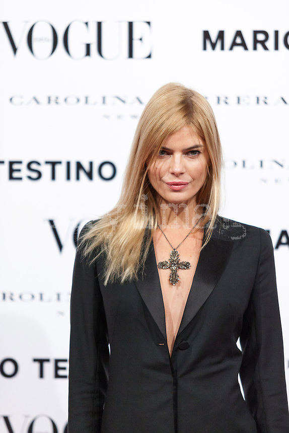 Cristina Tosio at Vogue December Issue Mario Testino Party