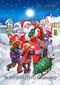 CHRISTMAS SANTA, SNOWMAN, WEIHNACHTSMÄNNER, SCHNEEMÄNNER, PAPÁ NOEL, MUÑECOS DE NIEVE, paintings+++++,KL5474V,#X#