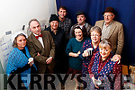 Churchill Players cast who performed 'The Cripple of Inishmaan' at Ardfert Community Centre on Friday night last, l-r: Maggie Griffin, Sean O'Callaghan, John Murray Michael O'Sullivan, Triona Daly, Niall O Lionsigh, Aine Quinn, John Scroupe, Veronica Kelly .