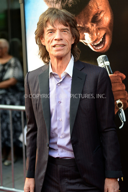WWW.ACEPIXS.COM<br /> July 21, 2014 New York City<br /> <br /> Mick Jagger attends the 'Get On Up' premiere at The Apollo Theater on July 21, 2014 in New York City.<br /> <br /> Please byline: Kristin Callahan/AcePictures<br /> <br /> ACEPIXS.COM<br /> <br /> Tel: (212) 243 8787 or (646) 769 0430<br /> e-mail: info@acepixs.com<br /> web: http://www.acepixs.com