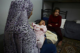 Flüchtlingsmütter in Griechenland