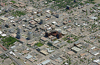 Aerial of downtown Colorado Springs, Colorado. June 2014. 85578
