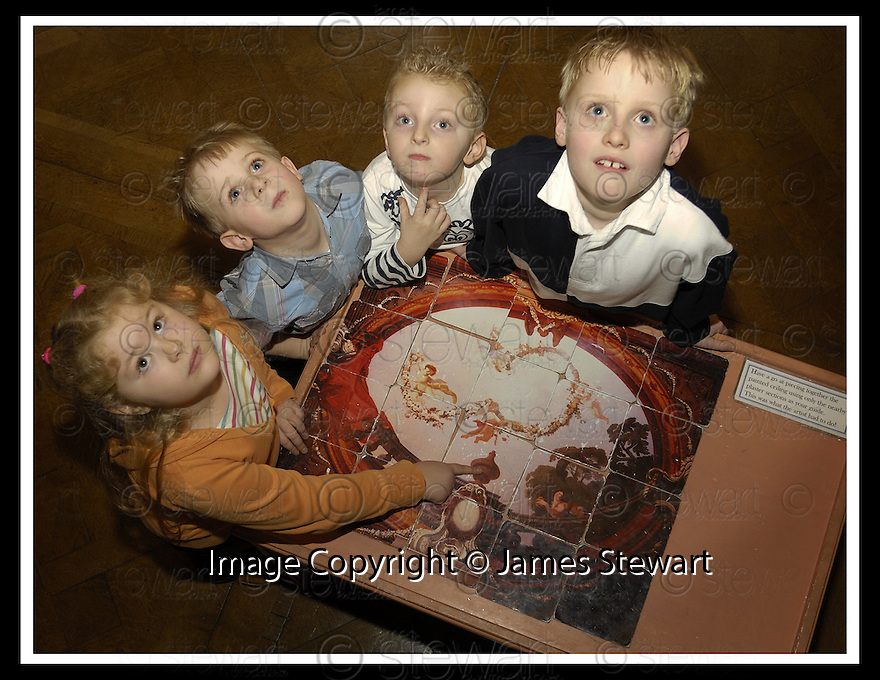 19/02/2007       Copyright Pic: James Stewart.File Name : jspa14_house.CHILDREN ENJOY THE INTERACTIVE ACTIVITIES AT CALLENDAR HOUSE....James Stewart Photo Agency 19 Carronlea Drive, Falkirk. FK2 8DN      Vat Reg No. 607 6932 25.Office     : +44 (0)1324 570906     .Mobile   : +44 (0)7721 416997.Fax         : +44 (0)1324 570906.E-mail  :  jim@jspa.co.uk.If you require further information then contact Jim Stewart on any of the numbers above.........