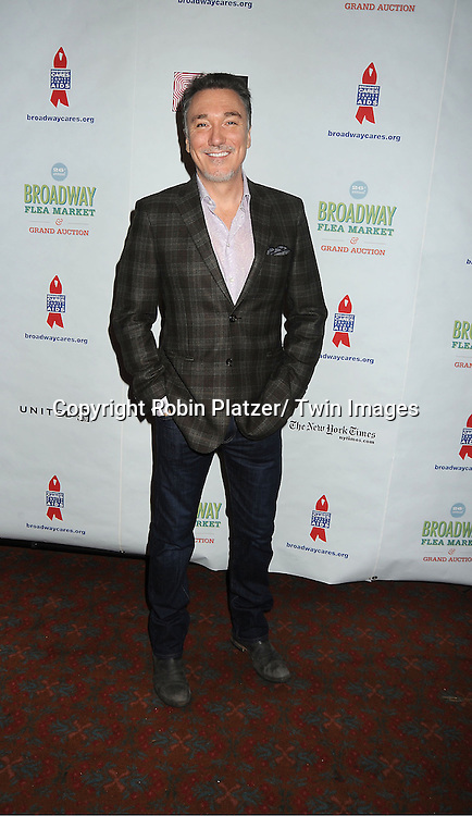 Patrick Page  attends the 26th Annual Broadway Flea Market and Grand Auction benefitting Broadway Cares/ Equity Fights Aids on September 23, 2012 at the Shubert Theatre in New York City.