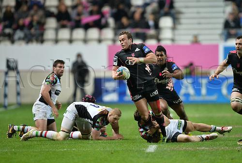 04.04.2014. Paris, France. Amlin Challenge Cup Rugby. Stade Francais versus Harlequins.  Michael Van Vuuren (sf)