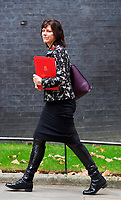 LONDON, UNITED KINGDOM - NOVEMBER 06: Minister of State for Energy and Clean Growth Claire Perry at a Cabinet meeting at 10 Downing Street in central London. November 06, 2018 in London, England. <br /> CAP/GOL<br /> &copy;GOL/Capital Pictures