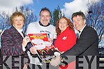 Pictured at the launch on Wednesday of the The Dog Laughs Music & Comedy Charity Weekend taking place in the Carlton Hotel, Tralee on the May bank holiday weekend, from left: Marion Barnes (Recovery Haven), Ted Cronin (organiser, Tralee MS and AHAR), Tina Glover (Animal Heaven Animal Rescue AHAR) and Danny McElligott (Tralee MS Society).