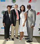 MIAMI GARDENS, FL - MAY 12: Dr. Barbara F. Wright, Trustee John Ruffin, Dr. Roslyn Clark Artis-President of Florida Memorial University and Chairman Charles W. George attends the Opening of  Florida Memorial University's  Multi-Purpose Arena and Wellness Education Center and the Launch of their Health Matters Movement at Florida Memorial University on Thursday May 12, 2016 in Miami Gardens, Florida.  ( Photo by Johnny Louis / jlnphotography.com )
