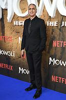 "Nitin Sawhney<br /> arriving for the""Mowgli: Legend of the Jungle"" premiere at the Curzon Mayfair, London<br /> <br /> ©Ash Knotek  D3464  04/12/2018"