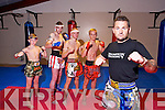Champion Thai Boxing members Darragh O'Sullivan, Stephen Moroney, Bawel Jurecki, Hubert Grabczak, David O'Sullivan, Instructor of Champion Thai Boxing back from Thailand after a successful tour on Monday
