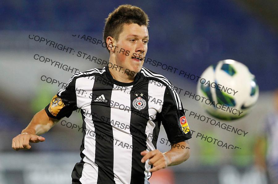 Fudbal season 2012-2013 Jelen Super league.Partizan v BSK Borca.Nikola Ninkovic.Beograd, 11.08.2012..foto: Srdjan Stevanovic/Starsportphoto ©