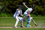 Action during the Medbury School v Hereworth School match at the National Primary School Cup, Lincoln, New Zealand, Wednesday 20th November 2019. Photo: John Davidson, www.bwmedia.co.nz
