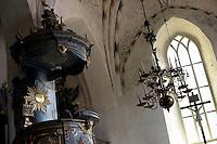 La cattedrale. The cathedral.<br /> Porvoo Borg&aring; &egrave; un&rsquo;antica citt&agrave; medievale dichiarata dall'UNESCO patrimonio dell'umanit&agrave;.<br /> Porvoo Borg&aring; is an old medieval town, UNESCO World Heritage Site.
