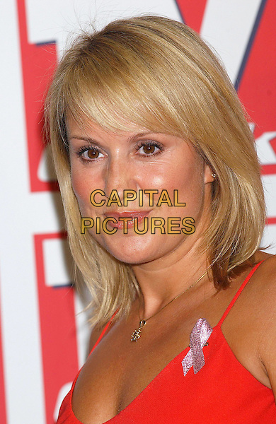 NIKKI CHAPMAN.TV Quick Awards At The Dorchester, London.8th September 2003 .headshot, portrait.www.capitalpictures.com.sales@capitalpictures.com.©Capital Pictures