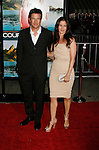 """WESTWOOD, CA. - October 05: Jason Bateman and wife Amanda Anka  arrive at the Los Angeles premiere of """"Couples Retreat"""" at the Mann's Village Theatre on October 5, 2009 in Westwood, Los Angeles, California."""