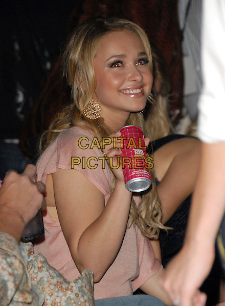 HAYDEN PANETTIERE.attends The 2 B Free Fashion Show held at Boulevard3  in Hollywood, LA, California, USA, March 19 2007..half length can of energy drink.CAP/DVS.©Debbie VanStory/Capital Pictures