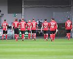 FussballFussball: agnph001:  1. Bundesliga Saison 2019/2020 27. Spieltag 23.05.2020<br />SC Freiburg - SV Werder Bremen<br />Enttaeuschung Freiburg; Roland Sallai, Lucas Hoeler, Nils Petersen, Jonathan Schmid, Janik Haberer, Nicolas Hoefler, Vincenzo Grifo, Christian Guenter (vlnr alle Freiburg) verlassen das Spielfeld;<br />FOTO: Markus Ulmer/Pressefoto Ulmer/ /Pool/gumzmedia/nordphoto<br /><br />Nur fŸr journalistische Zwecke! Only for editorial use! <br />No commercial usage!
