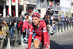Tony Martin (GER) Team Katusha before the start of Gent-Wevelgem in Flanders Fields 2017, running 249km from Denieze to Wevelgem, Flanders, Belgium. 26th March 2017.<br /> Picture: Eoin Clarke | Cyclefile<br /> <br /> <br /> All photos usage must carry mandatory copyright credit (&copy; Cyclefile | Eoin Clarke)