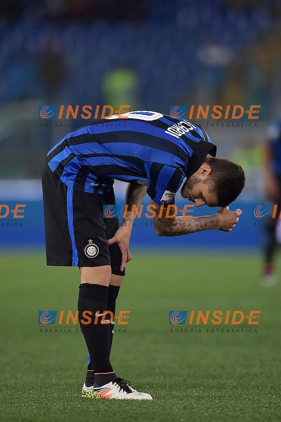 Mauro Icardi Inter Delusione Dejection <br /> Roma 01-05-2016 Stadio Olimpico Football Calcio Serie A 2015/2016 Lazio - Inter Foto Andrea Staccioli / Insidefoto