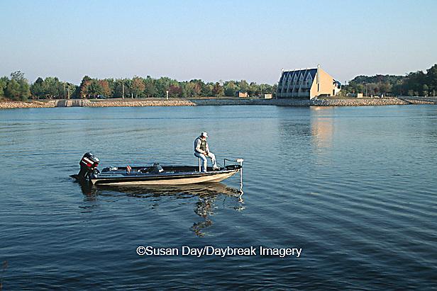 63820-010.17 Fishing at Rend Lake near Botel resort Wayne Fitzgerrell SP   IL
