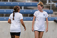Chicago, IL - Sunday Sept. 04, 2016: Arin Gilliland prior to a regular season National Women's Soccer League (NWSL) match between the Chicago Red Stars and Seattle Reign FC at Toyota Park.