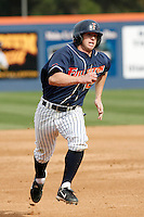 Joel Weeks of the Cal State Fullerton Titans during a game against the Arizona Wildcats at Goodwin Field on February 18, 2007 in Fullerton, California. (Larry Goren/Four Seam Images)