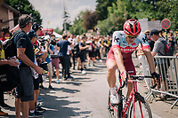 Marcel Kittel (DEU/Katusha-Alpecin) after finishing 3rd on stage 1: Noirmoutier-en-l'&Icirc;le &gt; Fontenay-le-Comte (189km)<br /> <br /> Le Grand D&eacute;part 2018<br /> 105th Tour de France 2018<br /> &copy;kramon