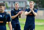 St Johnstone Training&hellip;24.08.18<br />Liam Craig pictured with David McMillan during training this morning at McDiarmid Park ahead of tomorrow&rsquo;s game against Dundee<br />Picture by Graeme Hart.<br />Copyright Perthshire Picture Agency<br />Tel: 01738 623350  Mobile: 07990 594431