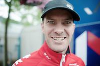 stage winner Greg Henderson (NZL/Lotto-Belisol) after the race<br /> <br /> Ster ZLM Tour<br /> stage 3: Buchten-Buchten (190km)