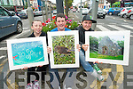 Some of the photography work undertaken as part of a parish project for young people in Castleisland. .L-R Grace McCarthy, Jack Curran and Thomas Barrett.