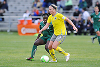 Sara Larsson #7, Eniola Aluko...Saint Louis Athletica defeated Philadelphia Independence 2-1 at Anheuser Busch Soccer Park, Fenton, MO.