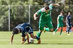 11.01.2019, Bidvest Stadion, Braampark, Johannesburg, RSA, FSP, SV Werder Bremen (GER) vs Bidvest Wits FC (ZA)<br /> <br /> im Bild / picture shows <br /> Daylon Kayton Claasen (Bidvest Wits FC #14) im Duell / im Zweikampf mit Kevin Möhwald / Moehwald (Werder Bremen #06), <br /> <br /> Foto © nordphoto / Ewert