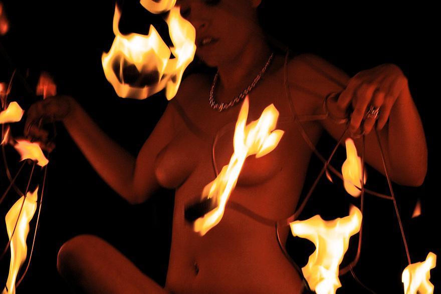 Lady C of Flambeaux Fire.
