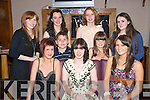 Stephanie Reen, Torc RTerrace, Killarney pictured with Amy Leahy, Vanessa Earlie, Marie McKenna, Aoife Thanner, Jason Reen, Emma McCarthy, Ave O'Donoghue and Mary Lyons as she celebrated her 18th birthday in Corkerys Bar, Killarney on Saturday night...