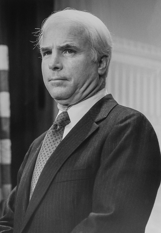 Sen. John McCain, R-Ariz., in April 18, 1998. (Photo by Laura Patterson/CQ Roll Call via Getty Images)
