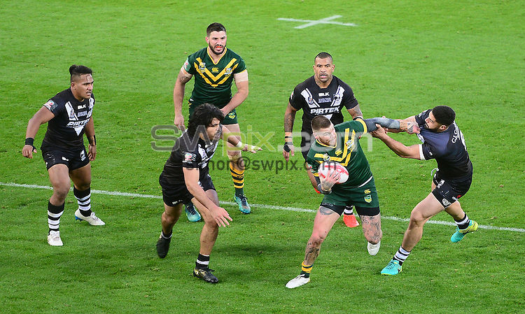 Picture by Simon Wilkinson/SWpix.com - 20/11/2016 -  International Rugby League, Ladbrokes FOUR Nations Final, Australia v New Zealand, 20th November 2016, Anfield, Liverpool<br />