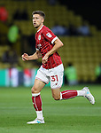 Bristol City's Jens Hegeler in action during the Carabao cup match at Vicarage Road Stadium, Watford. Picture date 22nd August 2017. Picture credit should read: David Klein/Sportimage