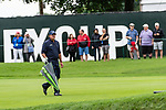 CROMWELL, CT. 21 June 2019-062119 - PGA Tour player Phil Mickelson walks up the fairway on the par 4 ninth hole, his 18th for the day, during the second round of the Travelers Championship at the TPC River Highlands in Cromwell on Thursday. Phil won't be playing this weekend since he failed to make the cut, shooting 3 over for the tournament. Bill Shettle Republican-American