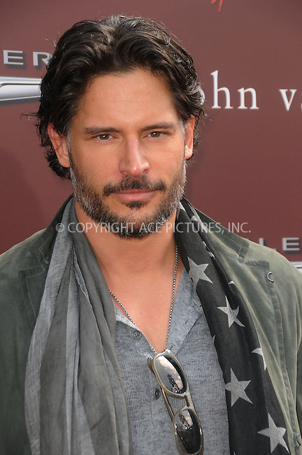 WWW.ACEPIXS.COM . . . . .  ....March 11 2012, LA....Joe Manganiello arriving at The 9th Annual John Varvatos Stuart House Benefit at John Varvatos Los Angeles on March 11, 2012 in Los Angeles, California.....Please byline: PETER WEST - ACE PICTURES.... *** ***..Ace Pictures, Inc:  ..Philip Vaughan (212) 243-8787 or (646) 769 0430..e-mail: info@acepixs.com..web: http://www.acepixs.com