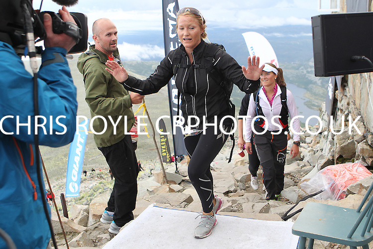 Race number 262 - Monica Hoff - Sunday Norseman Xtreme Tri 2012 - Norway - photo by chris royle / boxingheaven@gmail.com