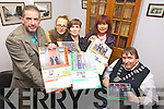 Launching the Kerry LGBT & Friends 2013 community calendar on Monday were: Martin Greenwood (Chair of Ciarrai Amach), Monika Maroszova, Teresa Galvin, Dee Keogh (NEKD) and Mayor of Kerry Terry O'Brien.