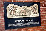 Roman remains, Lion Walk Mosaic, Colchester, Essex