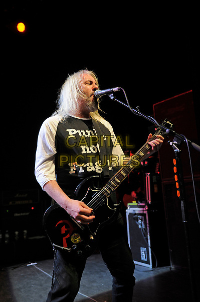 LONDON, ENGLAND - MARCH 25: Ben Harding of 'Senseless Things' performing at Shepherd's Bush Empire on March 25, 2017 in London, England.<br /> CAP/MAR<br /> &copy;MAR/Capital Pictures