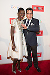WASHINGTON, DC - MAY 2: Lupita Nyong'o and Dan Bucatinsky attending the Google and Netflix party to celebrate White House Correspondents' Dinner on May 2, 2014 in Washington, DC. Photo Credit: Morris Melvin / Retna Ltd.