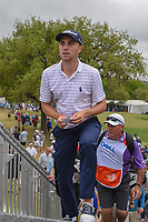 Justin Thomas (USA) approaches the 7th tee during day 5 of the World Golf Championships, Dell Match Play, Austin Country Club, Austin, Texas. 3/25/2018.<br /> Picture: Golffile | Ken Murray<br /> <br /> <br /> All photo usage must carry mandatory copyright credit (© Golffile | Ken Murray)