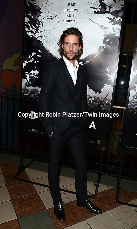 Tommy Dunn attends the Special Screening of &quot;Dracula Untold&quot;  on October 6, 2014 at The ABC Loews 34th Street Imax Theatre In New York City. <br /> <br /> photo by Robin Platzer/Twin Images<br />  <br /> phone number 212-935-0770