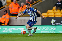 7th March 2020; Molineux Stadium, Wolverhampton, West Midlands, England; English Premier League, Wolverhampton Wanderers versus Brighton and Hove Albion; Alireza Jahanbakhsh of Brighton & Hove Albion prepares to bring the ball in off the wing