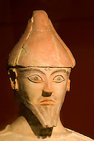Nationalmuseum in Nicosia (Lefkosia), Fund aus Agia Irini, Terrakotta , aus der Bronzezeit 1.500-1200 v. Chr. ?, Zypern (Süd)