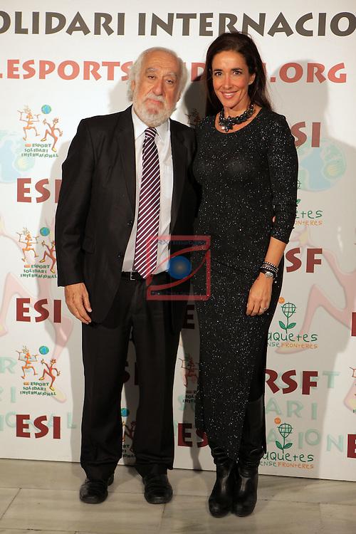 XIe Sopar Solidari d'ESI (Esport Solidari Internacional).<br /> Josep Maldonado &amp; Elsa Anka.